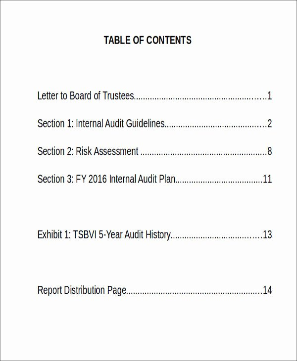 Sample Internal Audit Report Lovely 45 Sample Reports In Docs
