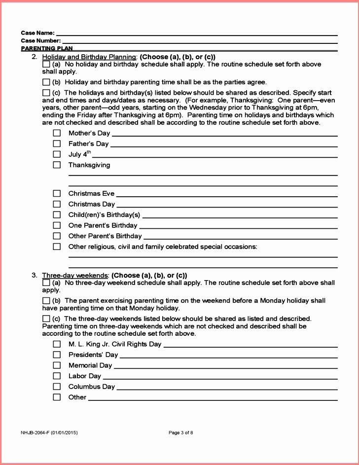 Sample Joint Custody Agreements Luxury 42 Quick 50 50 Custody Agreement Sample No – Goethecy