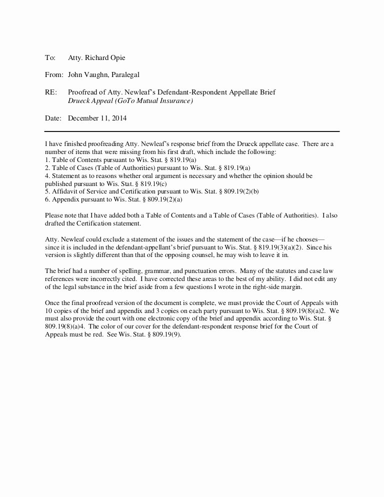 Sample Legal Memo format Inspirational Sample Interoffice Memo