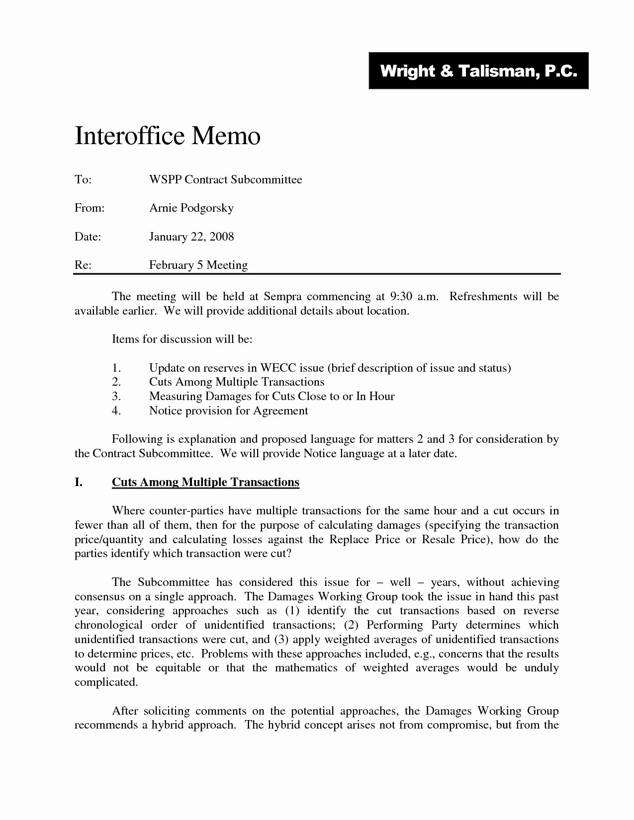 Sample Legal Memo format Luxury Legal Fice Memo format