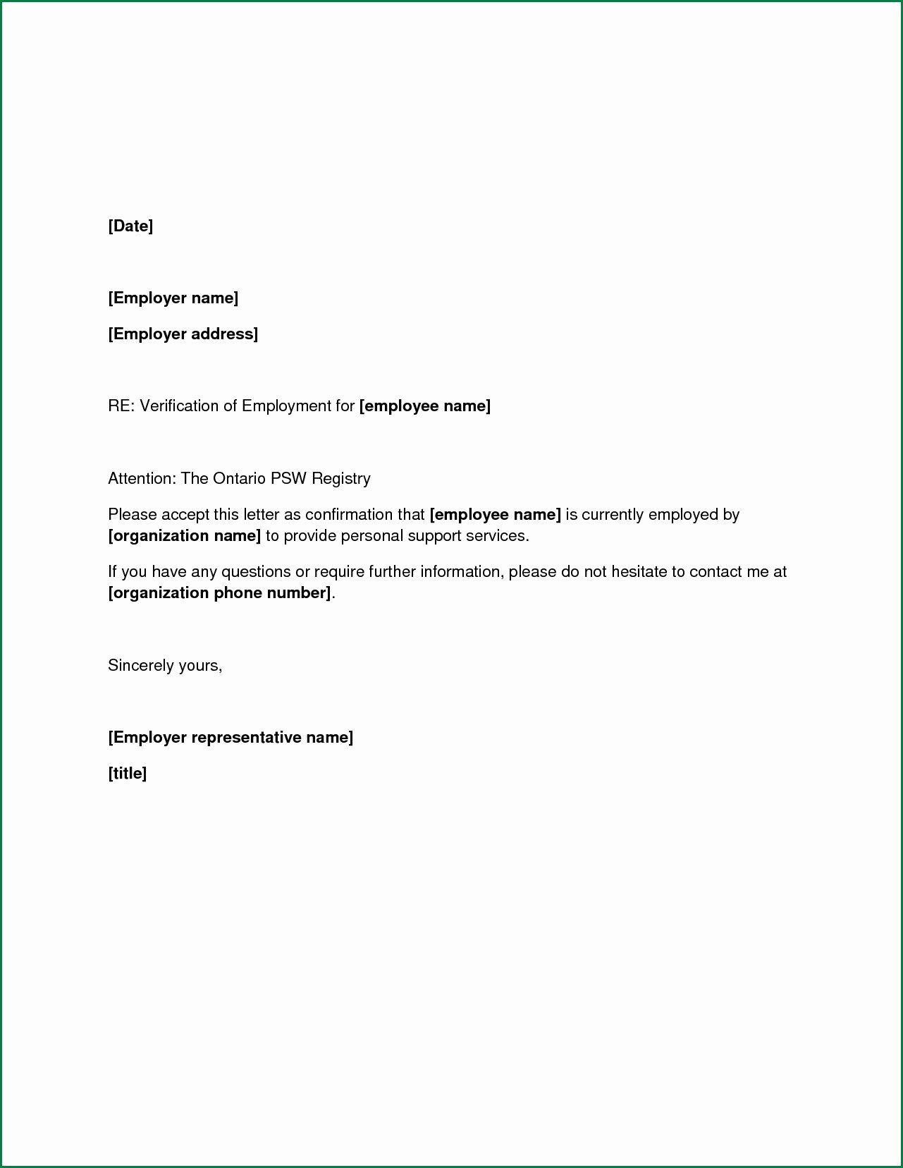 Sample Letter for Employee Beautiful No Longer Employed Letter Sample