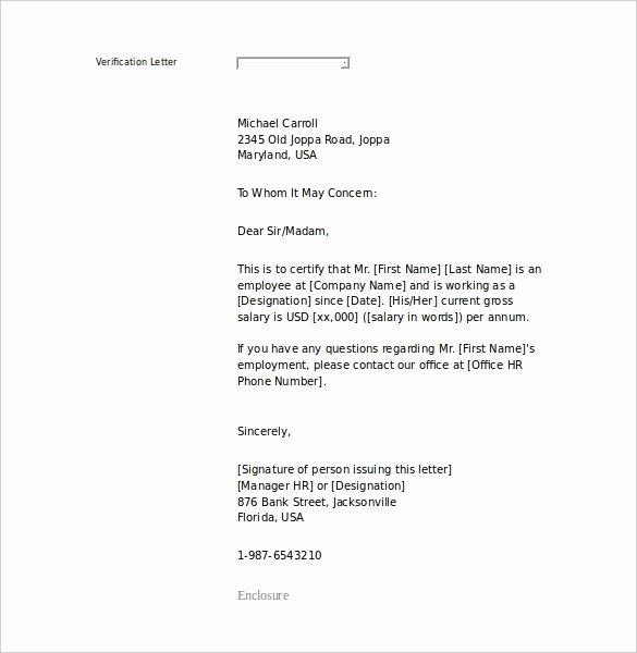Sample Letter for Employees Luxury An Employee Letter