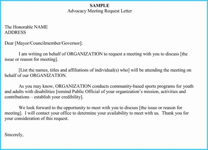 Sample Letter for Meeting Schedule Fresh Meeting Appointment Letter Templates 6 Samples