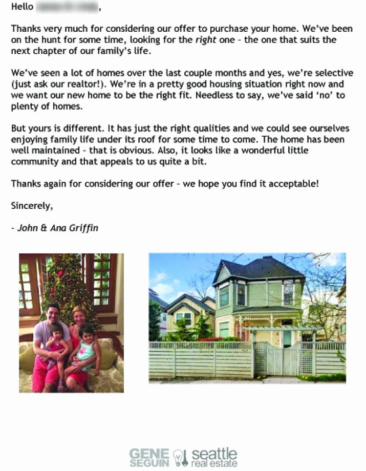 Sample Letter to Home Seller Awesome Dear Seller Letters Work for Home Ers Seattlepi
