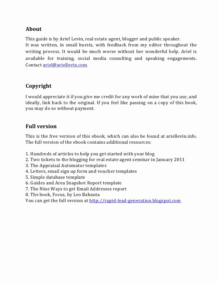 Sample Letter to Home Seller Fresh Rapid Lead Generation for Real Estate Agents 15