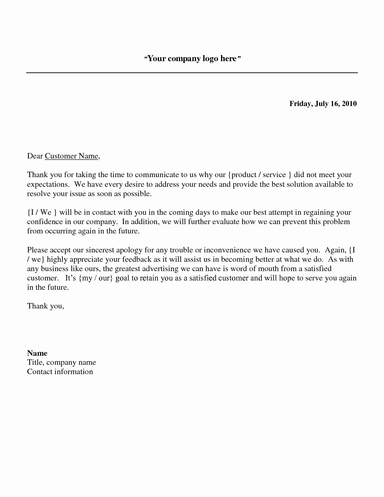 Sample Letter to Patient Inspirational Reply to Patient Plaint Letter Template Collection