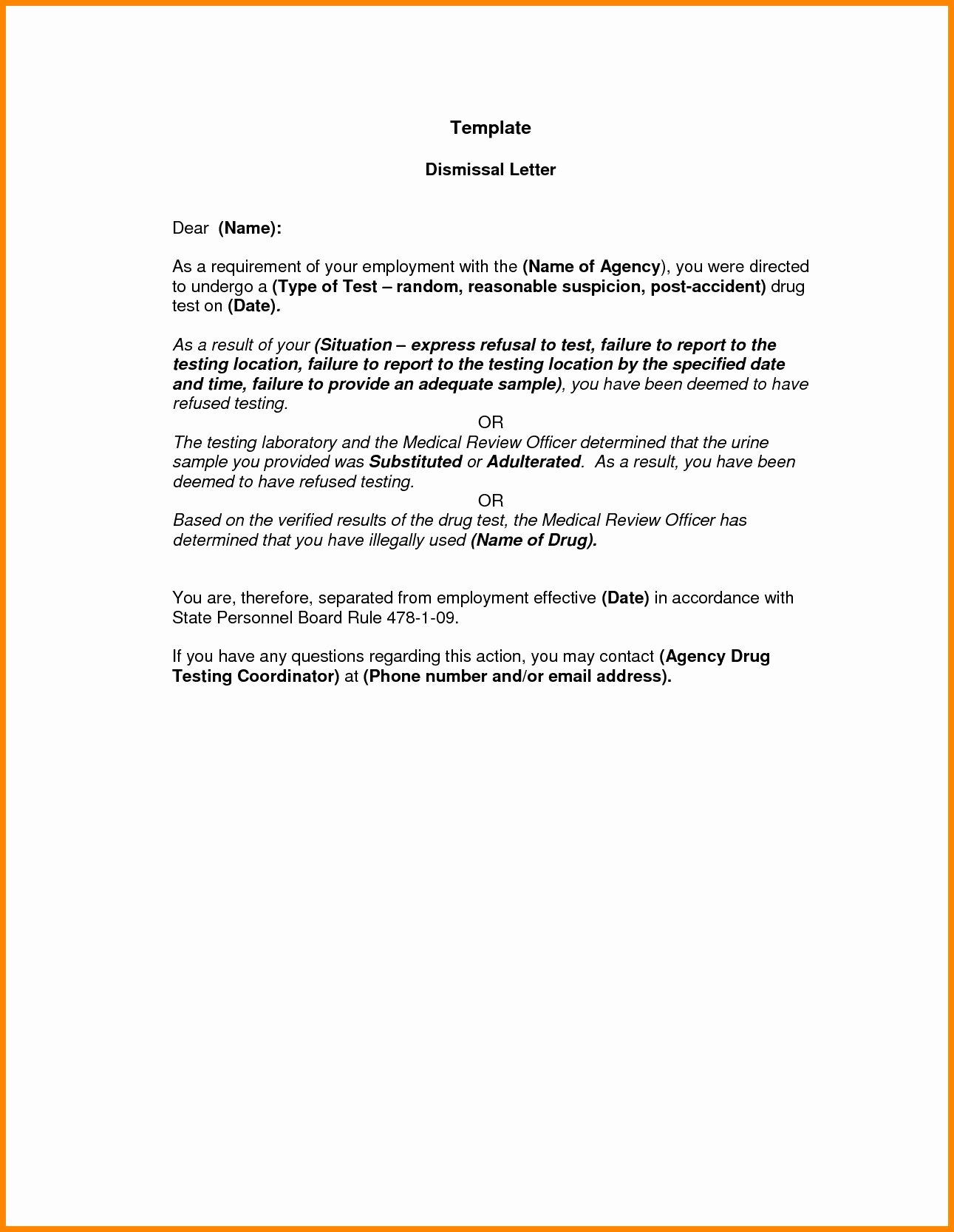 Sample Letter to Patient Luxury Dental Patient Dismissal Letter Template Samples