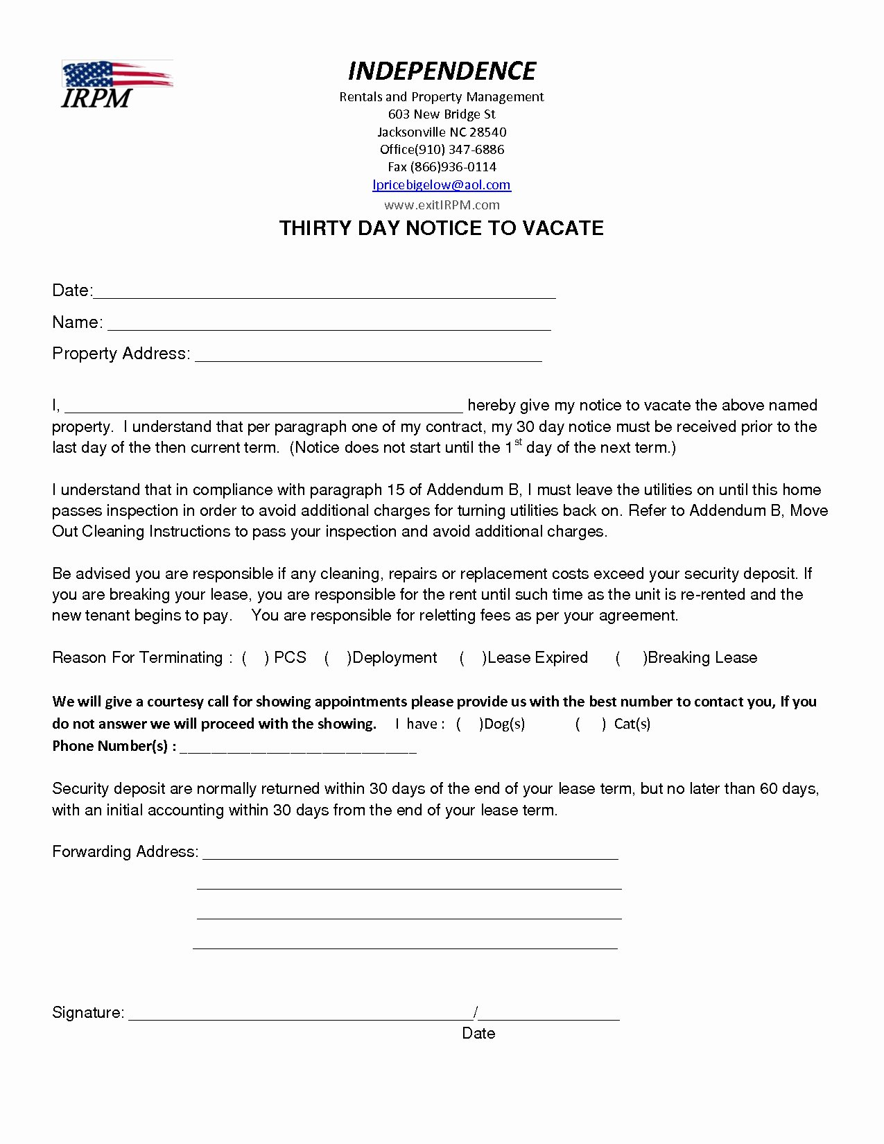 Sample Letter to Vacate Apartment New Notice Intent to Vacate Letter Template Collection