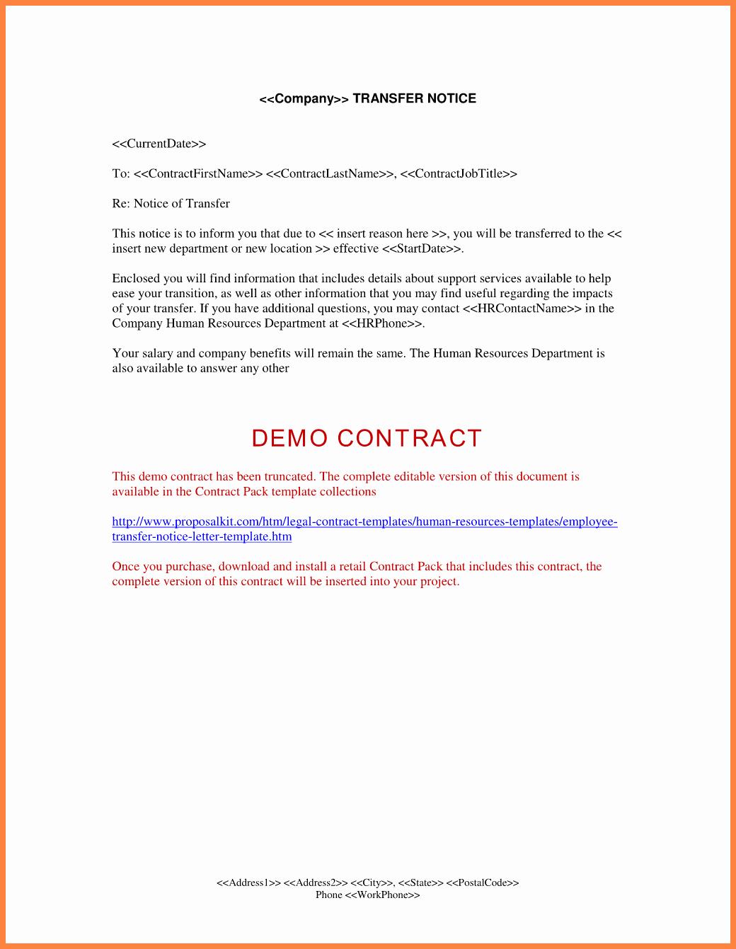 9 employee notice format