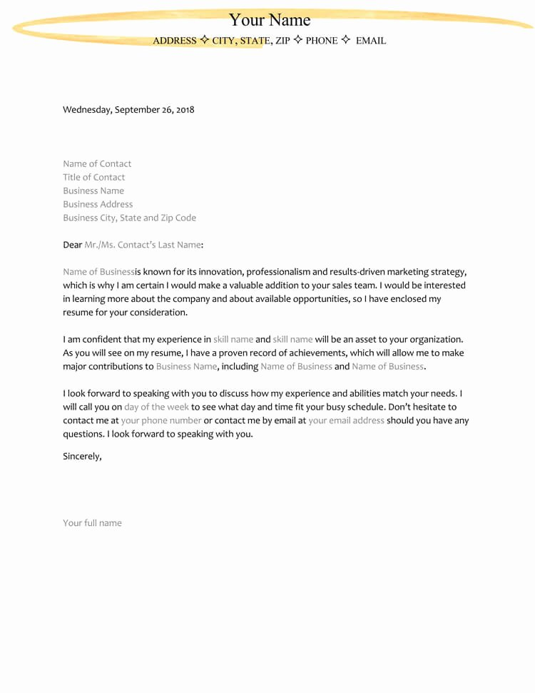 Sample Letters Of Interest Lovely 38 Letter Of Interest Samples & Examples Writing Guidelines
