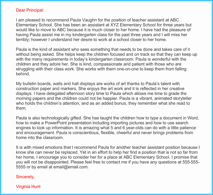 Sample Letters Of Recommendation Teachers Unique Teacher Re Mendation Letter 20 Samples Fromats