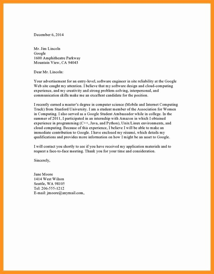 Sample Letters to Recruiters Beautiful 7 8 Recruiting Cover Letter Sample