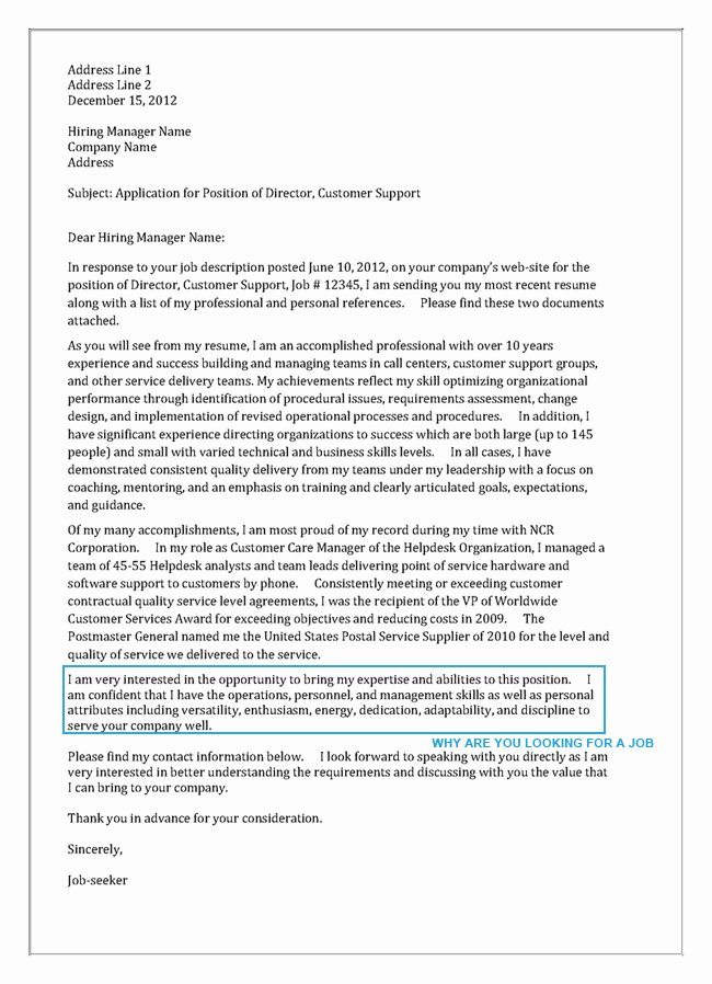 Sample Letters to Recruiters Unique Write A Cover Letter Perfectly