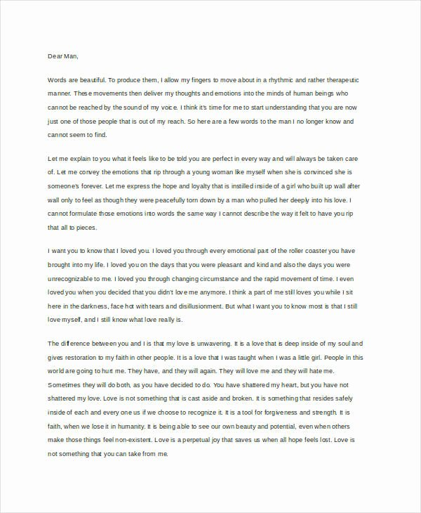 Sample Love Letter to Boyfriend Fresh 9 Love Letter Templates to Boyfriend
