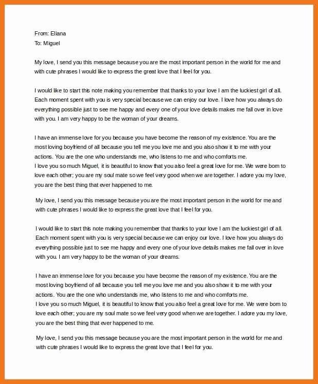 Sample Love Letter to Boyfriend Lovely 6 7 Love Letters to Your Boyfriend