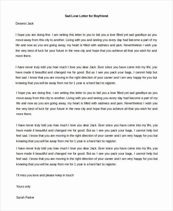 Sample Love Letter to Boyfriend Lovely Sample Love Letter to Boyfriend 7 Examples In Word