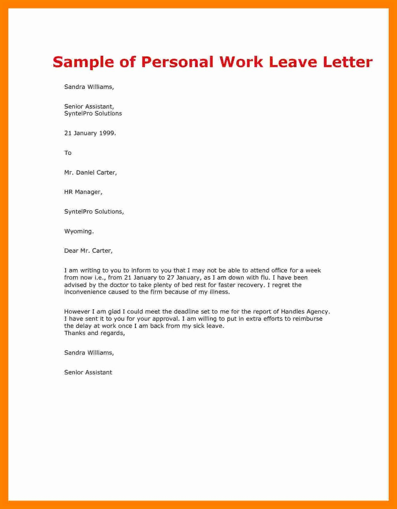 Sample Maternity Leave Letter Fresh Maternity Return to Work Letter From Employer Template