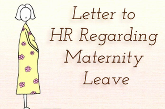 Sample Maternity Leave Letter Lovely Sample Letter to Hr Regarding Maternity Leave