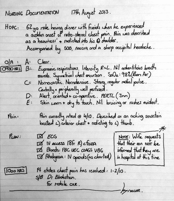 Sample Nurses Notes Narrative Beautiful Nursing Notes How to Document Nursing Notes