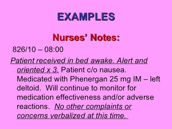 Sample Nurses Notes Narrative Unique Nurses Notes Template Free Download Printables Race