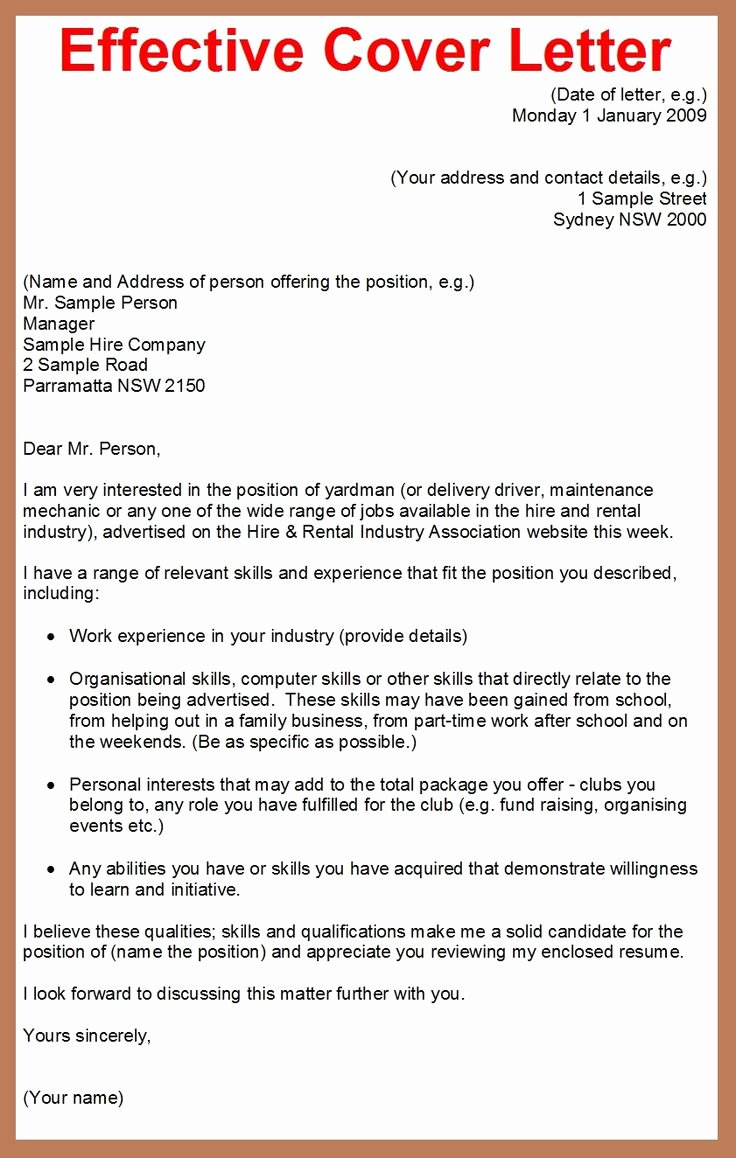 Sample Of A Job Application Fresh How to Write A Cover Letter for A Job Application Google