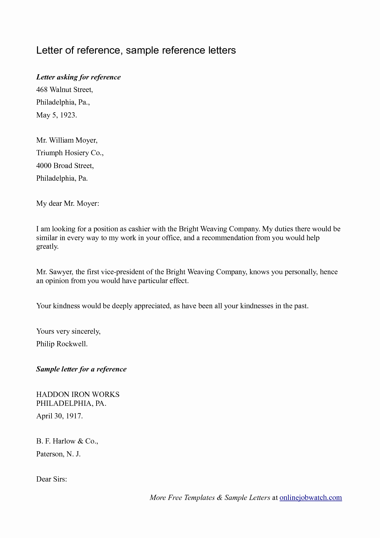 Sample Of A Referee Letter Best Of Sample Reference Letter Reference Letter Template for