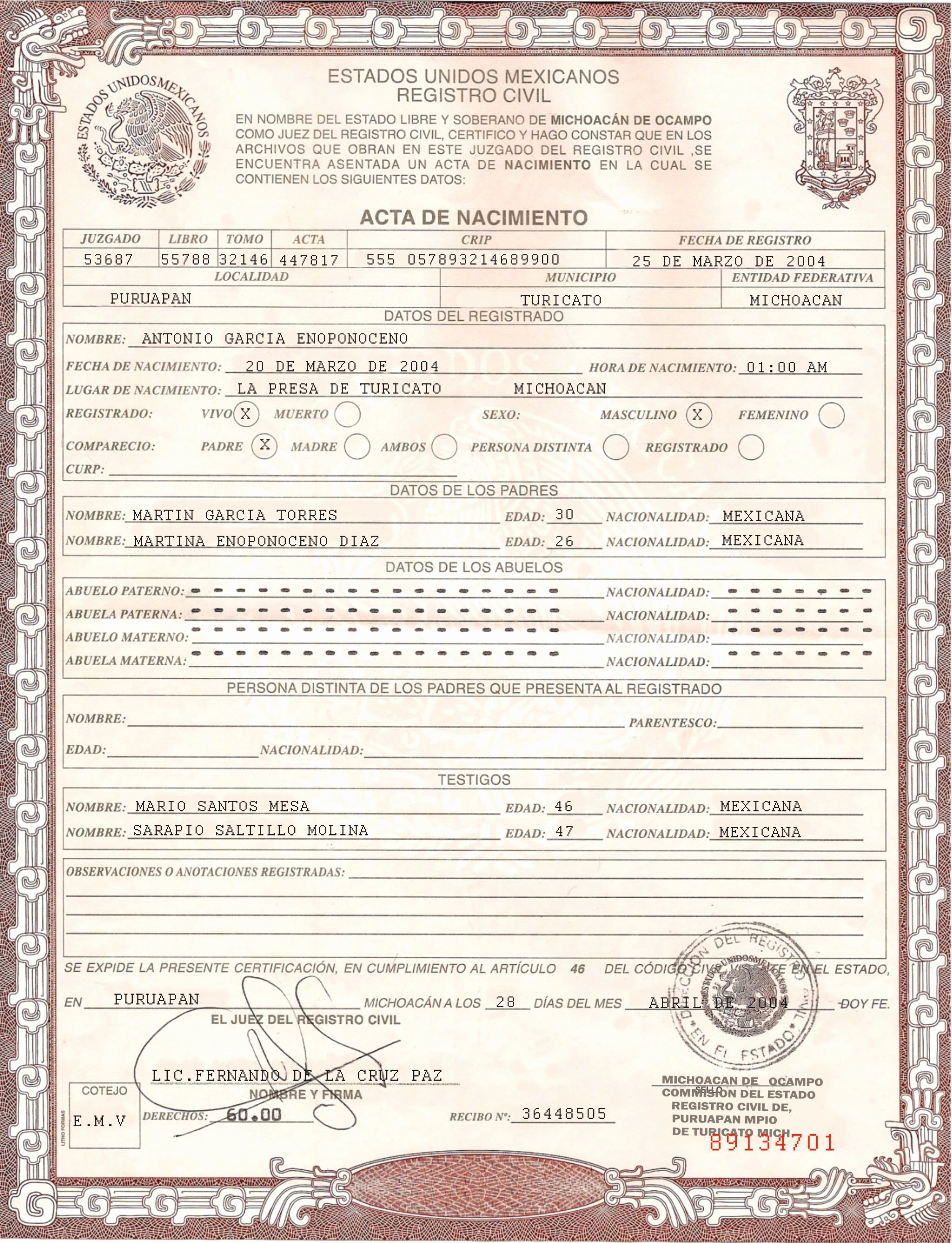 Sample Of Death Certificate Unique Pin by Randy S On Docs In 2019