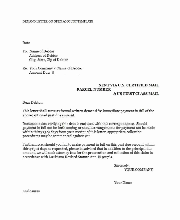 Sample Of Demand Letter Best Of 40 Best Demand Letter Templates Free Samples Template Lab