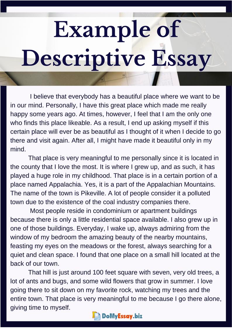 Sample Of Descriptive Essay Luxury 10 Free Essay Samples Critical Descriptive