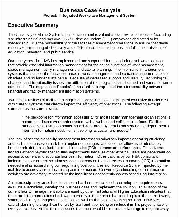 Sample Of Executive Summary Inspirational 9 Executive Summary Examples Word Pdf