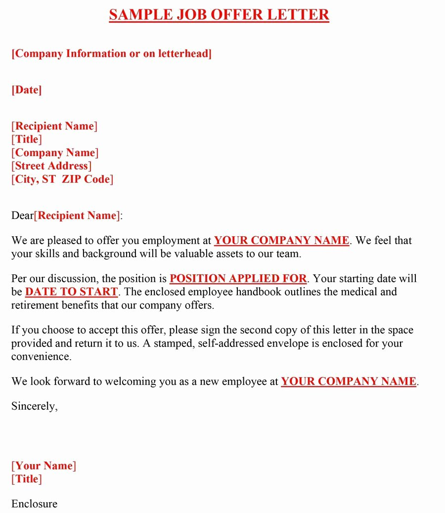 Sample Of Job Letter Awesome 44 Fantastic Fer Letter Templates [employment Counter