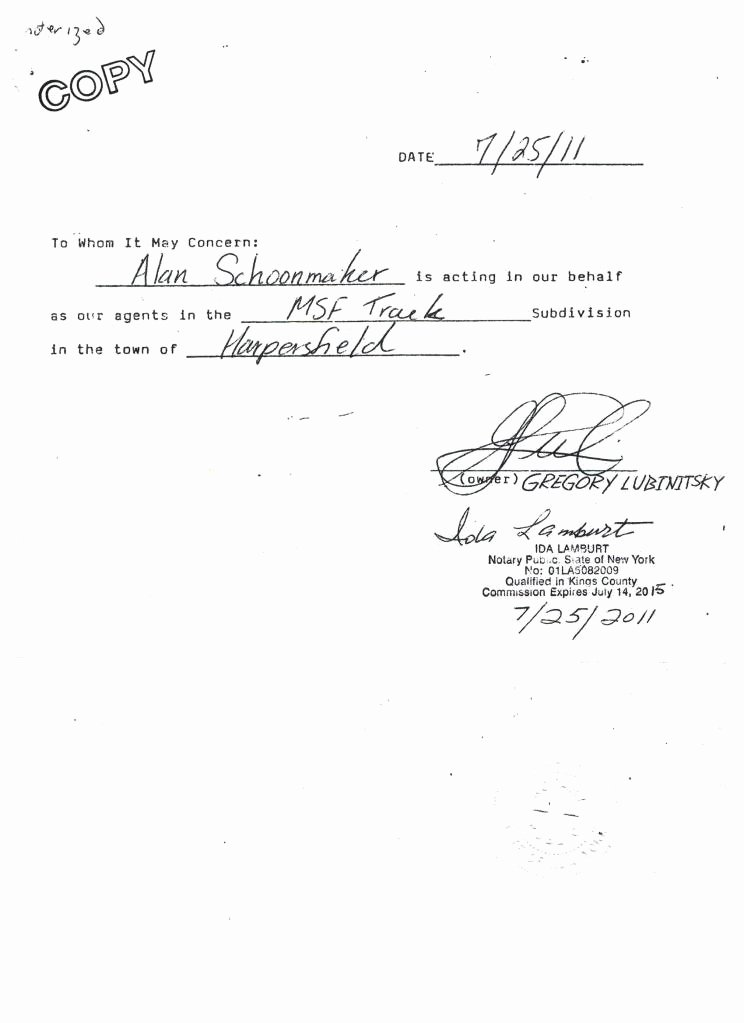 Sample Of Notarized Document Unique Notarized Letter Sample