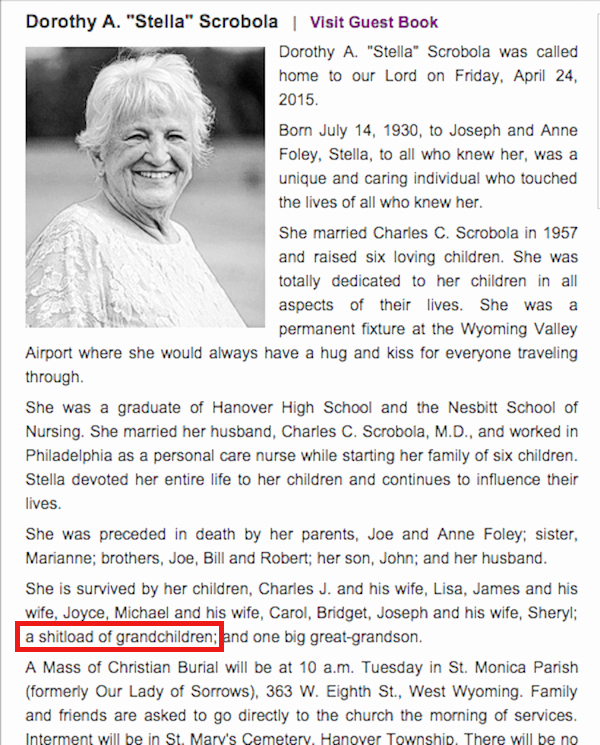 Sample Of Obituaries for Mother Best Of 13 Charmingly Funny Obituaries that Absolutely Killed