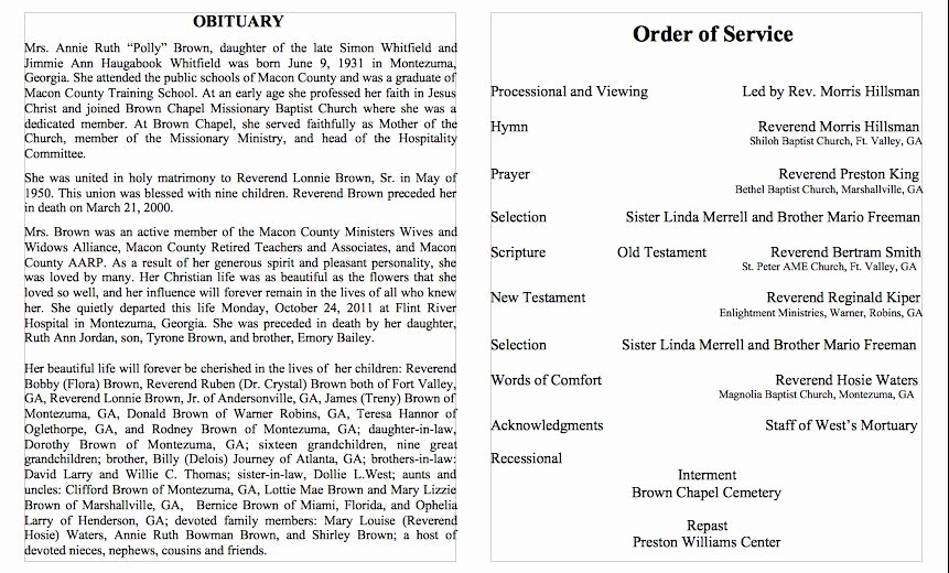 Sample Of Obituaries for Mother Best Of 25 Obituary Templates and Samples Template Lab