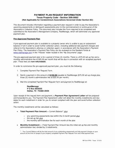 Sample Of Payment Plan Agreement Awesome 16 Agreement Letter for Payment Examples Pdf Doc