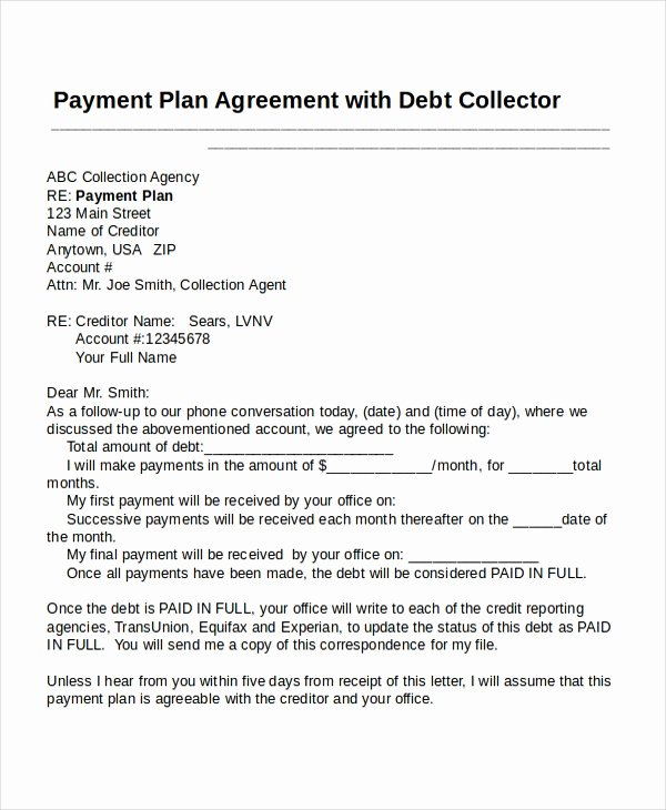 Sample Of Payment Plan Agreement Fresh 26 Agreement Templates Word Pages Google Docs