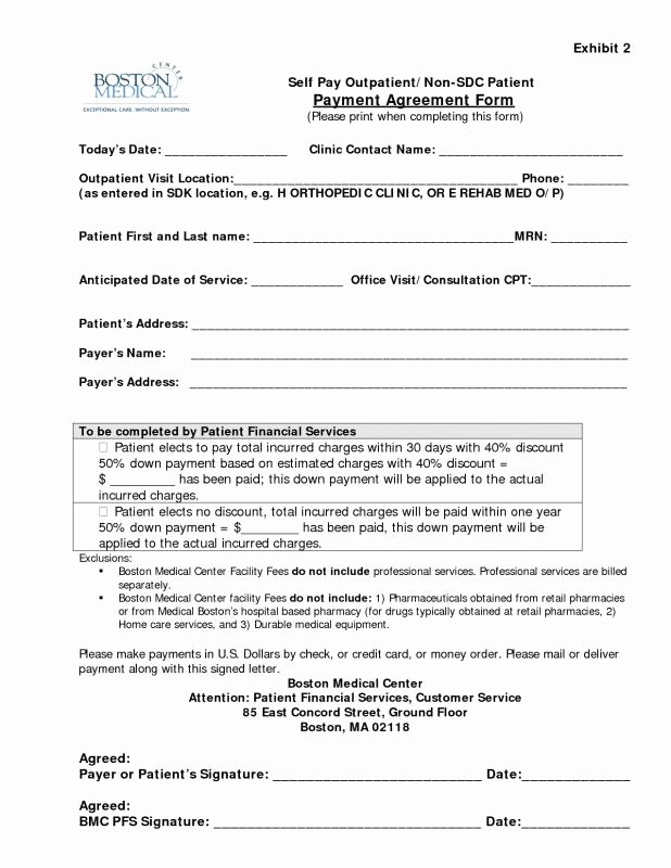Sample Of Payment Plan Agreement Lovely Owner Financing Contract Template