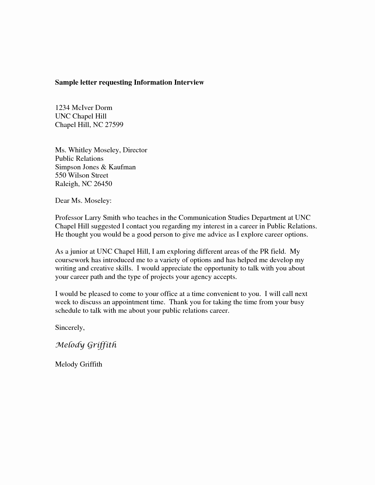 Sample Of Petition Letter Inspirational Sample Letter Request for Information