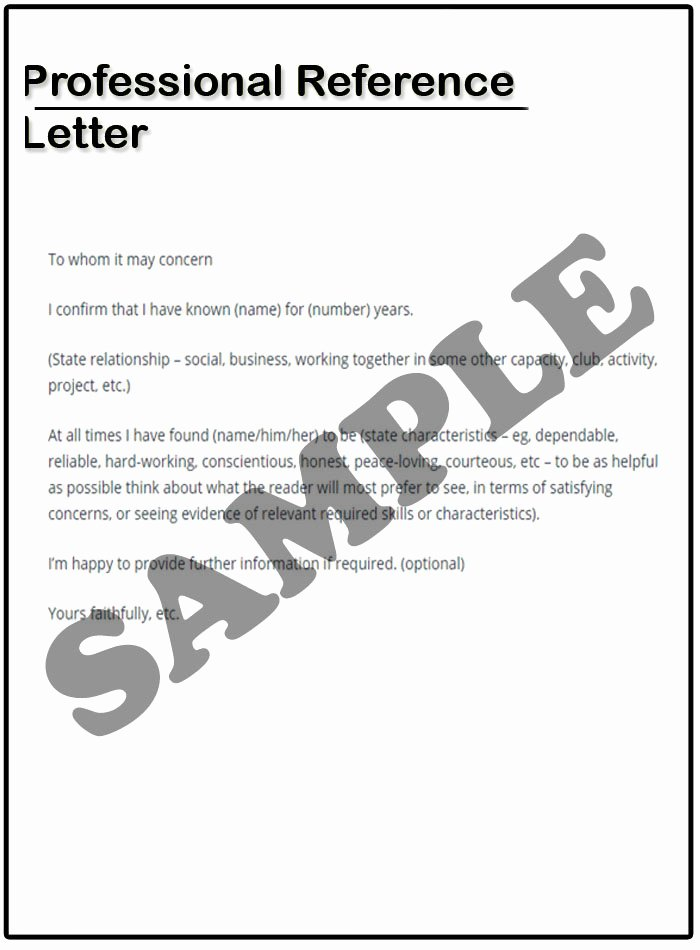 Sample Of Professional Reference Letter Best Of Professional Reference Letter Example