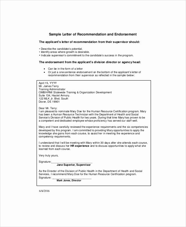 Sample Of Promotion Letters Best Of 8 Sample Promotion Re Mendation Letter Examples In