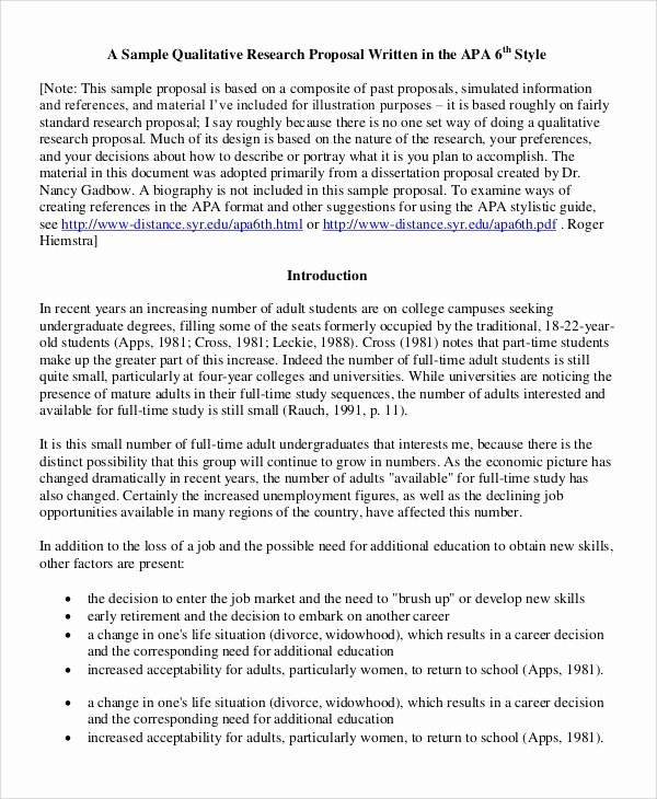 Sample Of Research Proposal Fresh 12 Research Proposal Samples Pdf Word Pages