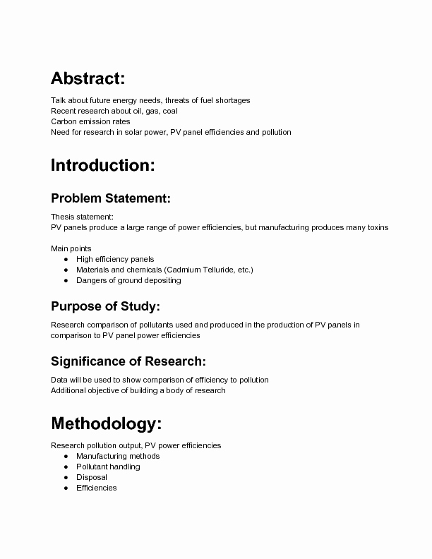 Sample Of Research Proposal Lovely Sample Research Proposal Outline Wikihow