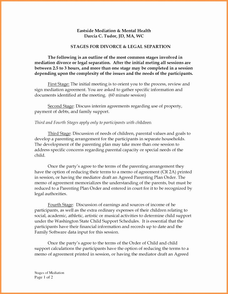 Sample Parallel Parenting Plan Beautiful 005 Parenting Plan Template Australia Child Support