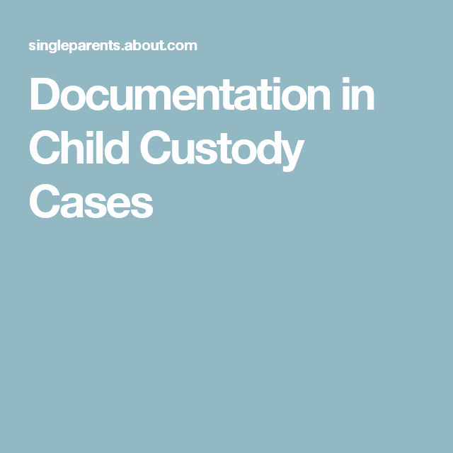 Sample Parallel Parenting Plan Luxury Information You Need to Document About Your Child Custody