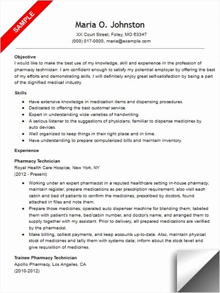 Sample Pharmacy Tech Resume Awesome Best 223 Riez Sample Resumes Images On Pinterest
