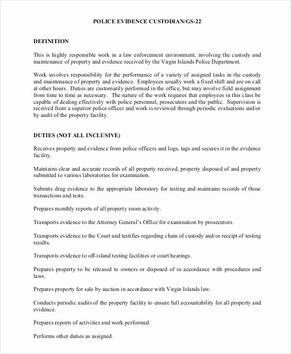 Sample Police Report Writing Fresh Free 10 Police Report Examples & Sample In Pdf