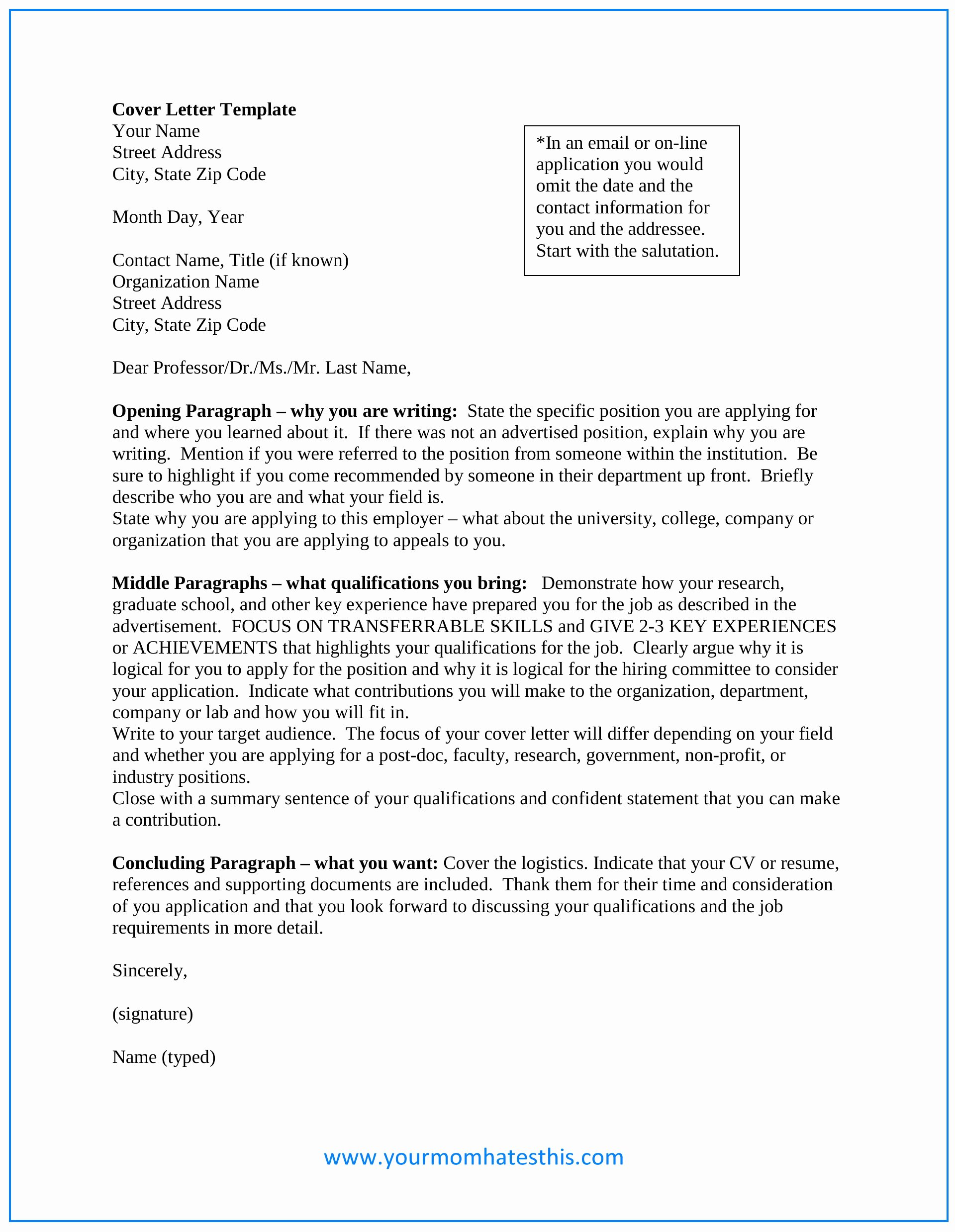 Sample Professional Cover Letter New Download Cover Letter Samples