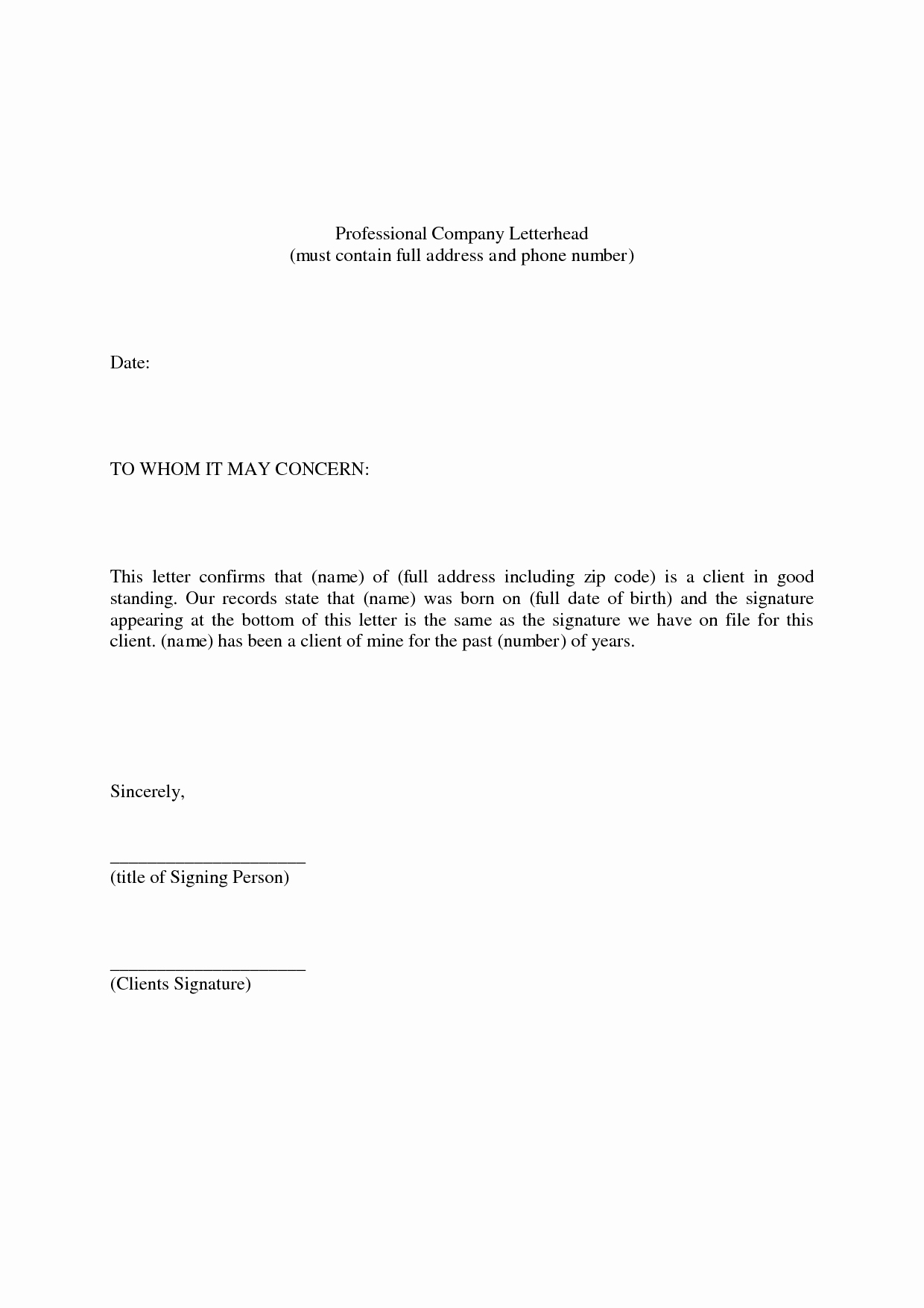 Sample Professional Letter Of Recommendation Beautiful Professional Reference Letter Example