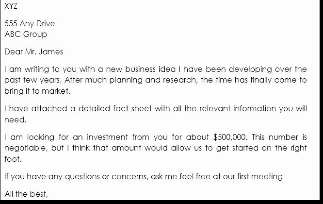 business proposal letter samples