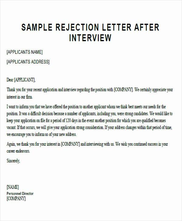 Sample Proposal Rejection Letter Inspirational 35 Proposal Letter format Samples Word Pdf